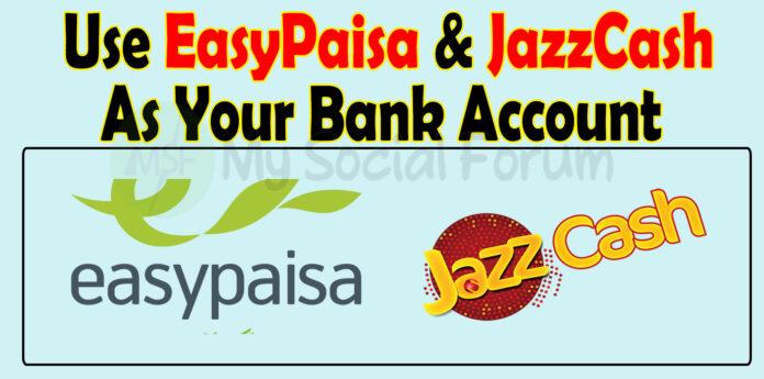 Jazzcash Easypaisa