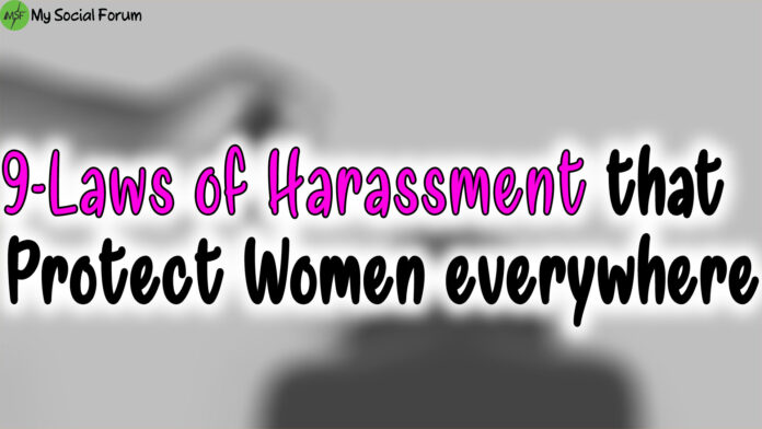 laws of harassment