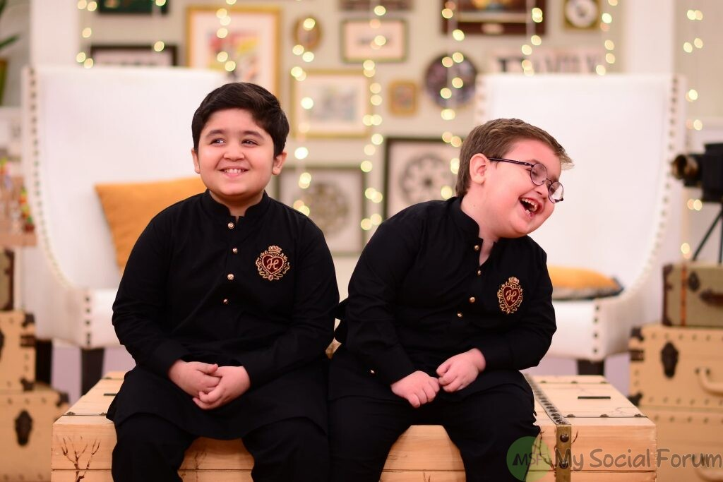 Arshad Khan and Ahmed Shah