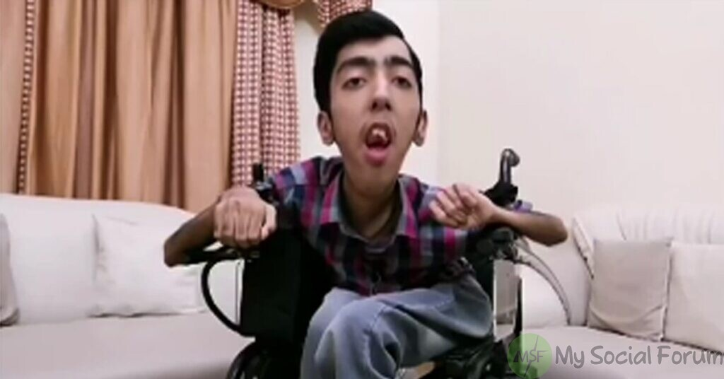 sarim hassan disabled youngster