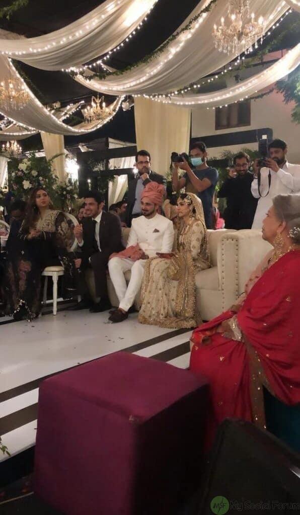 Sanam Jung Sister Amna Jung Wedding