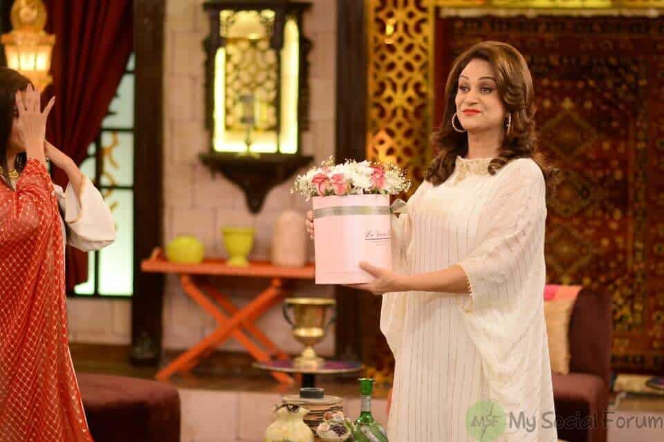 Bushra Ansari on Nida yasir show