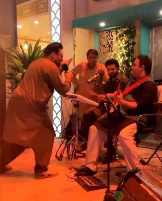 aamir liaquat dance video reaction