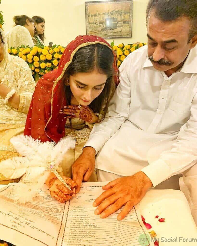 shehzeen rahat marriage