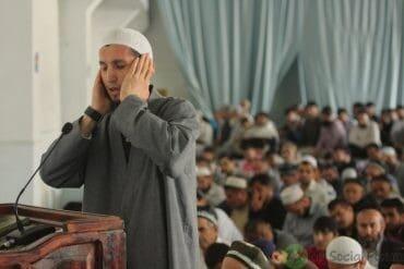 Preceding the Imam
