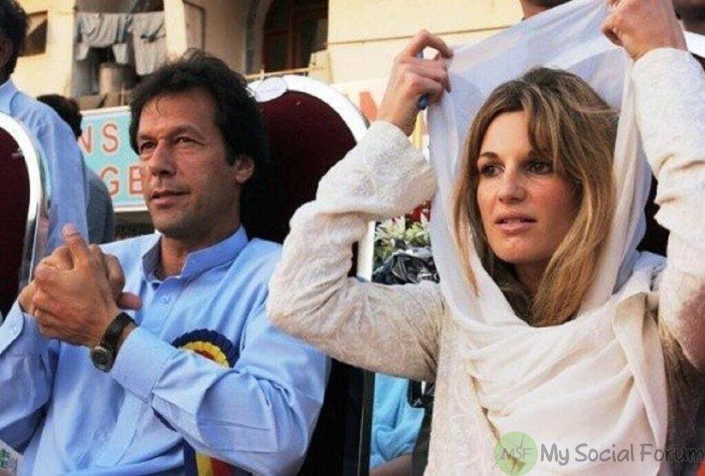 jemima goldsmith and imran khan