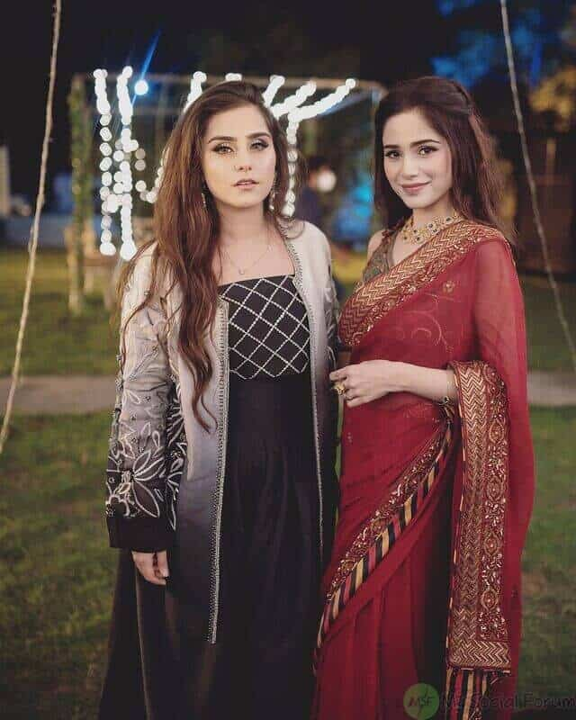 Aima Baig and Shahbaz Shigri engagement