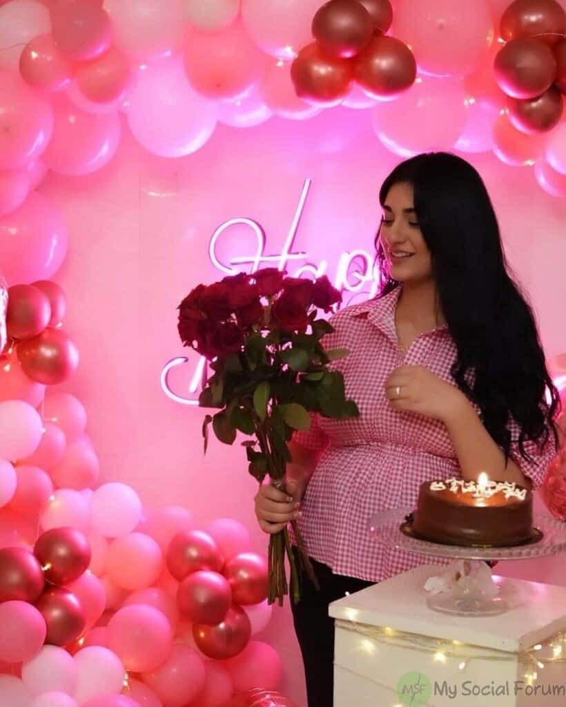 Sarah khan birthday