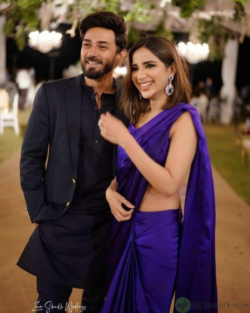 Saboor Aly With Her Husband Ali Ansari